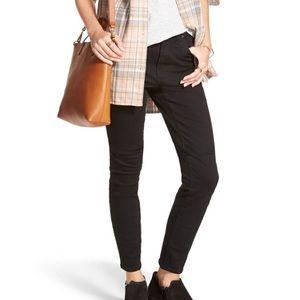 Madewell Black Skinny Skinny Jeans Size 28